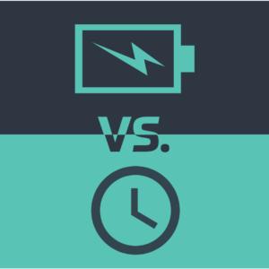 Verschil tussen energie en tijd